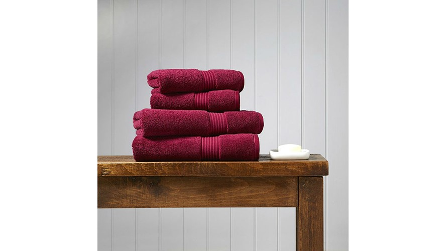 Christy Supreme Hygro Towel - Raspberry