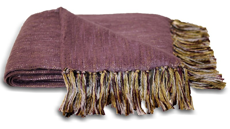 Chiltern Throw - Plum