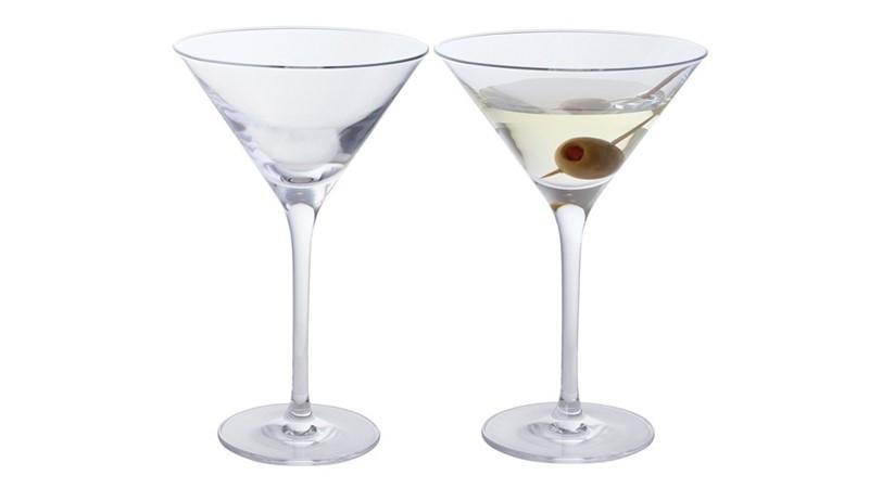 Dartington Wine & Bar Martini Glasses (Set of 2)