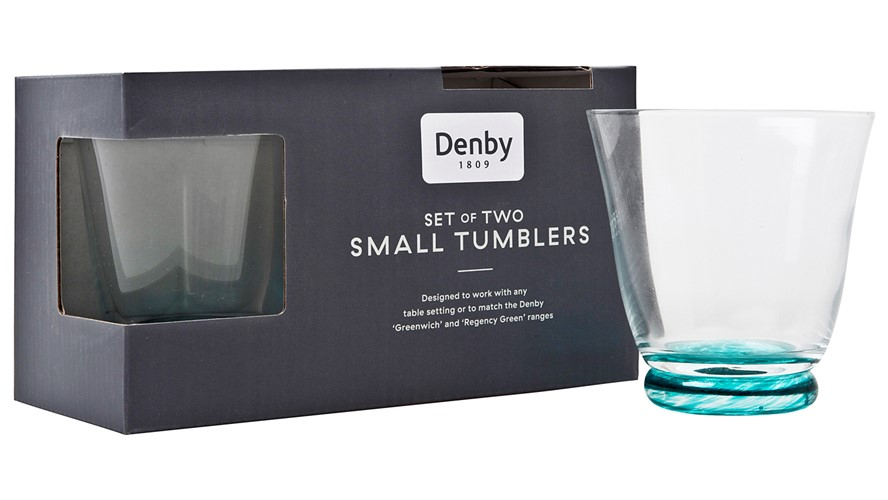 Denby Greenwich Small Tumbler - Set of 2