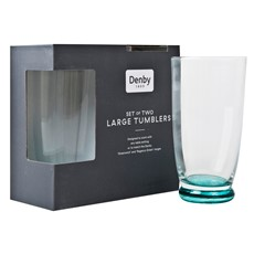 Denby Greenwich Large Tumbler - Set of 2