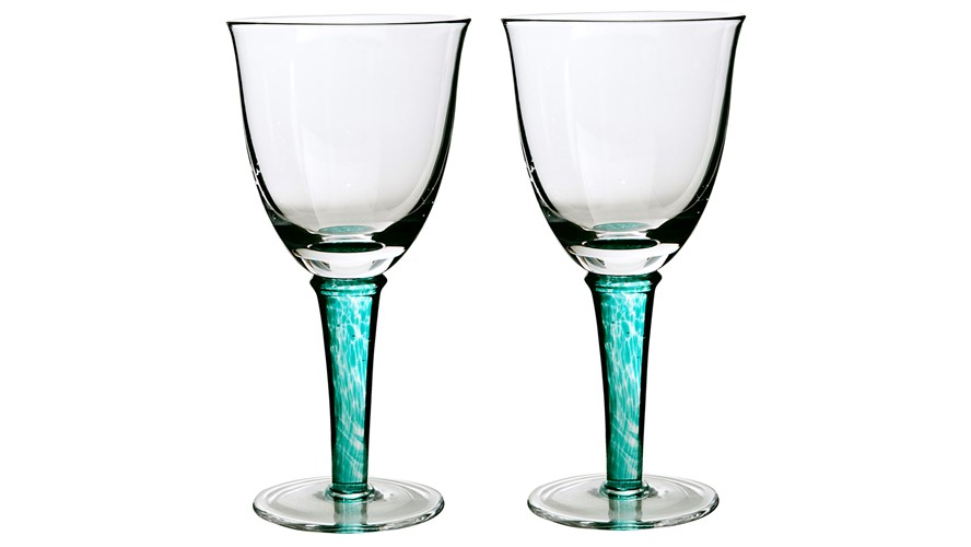 Denby Greenwich White Wine Glass - Set of 2
