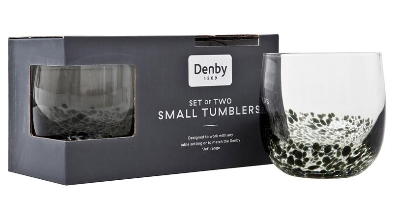 Denby Jet Denby Jet Small Tumbler - Set of 2