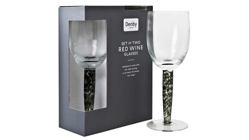 Denby Jet Denby Jet Red Wine Glass - Set of 2