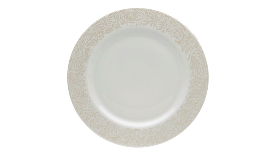 Monsoon Lucille Gold Dessert Plate