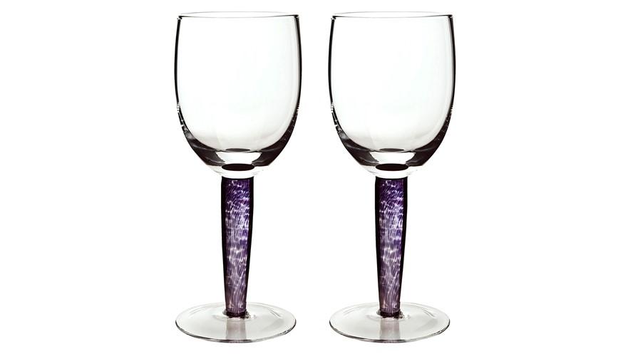 Denby Amethyst Red Wine Glasses - Set of 2