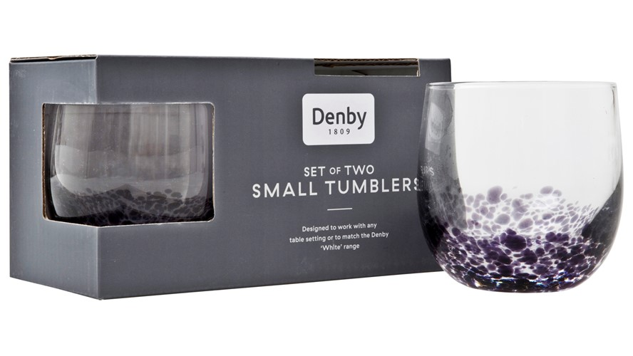 Denby Amethyst Small Tumblers - Set of 2