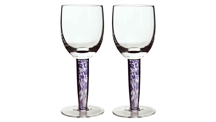 Denby Amethyst White Wine Glasses - Set of 2