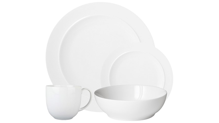 White by Denby 16 Piece Dinner Set