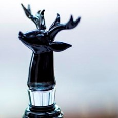 Just Slate Stag Wine Bottle Stopper