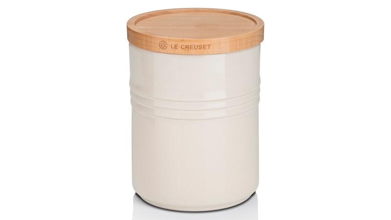 Le Creuset Medium Storage Jar - Almond