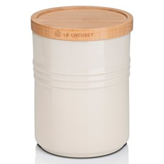 Le Creuset Medium Storage Jar - Almond