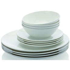 Maxwell & Williams Cashmere Coupe 12 Piece Dinner Set