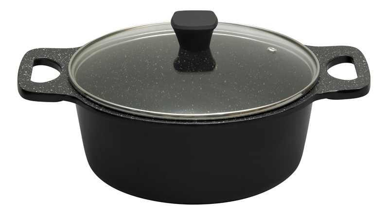 Prestige Stone Quartz 24cm Casserole Dish