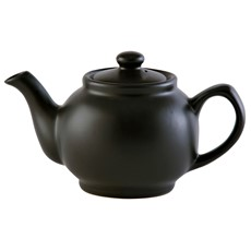 Matt Black 2 Cup Teapot
