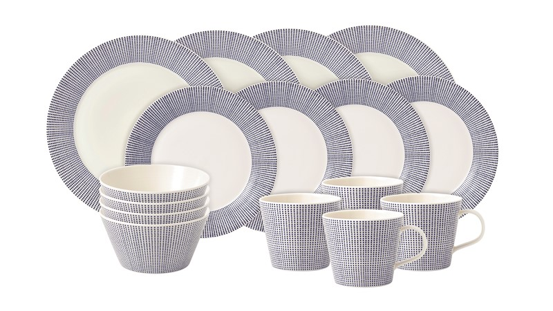 Royal Doulton Pacific Dinner Set - 16 Piece