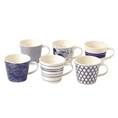 Royal Doulton Pacific Mugs (Set of 6)