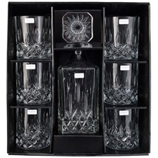 Royal Doulton Crystal Decanter Seasons Set