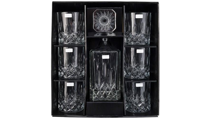 Royal Doulton Crystal Decanter Seasons Set