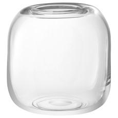 LSA Molten Cube 17cm Vase - Clear
