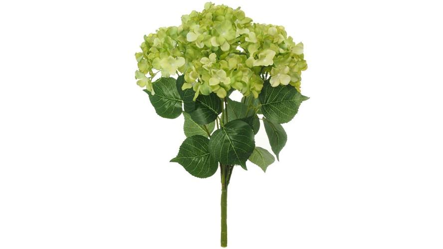 Silk Mophead Hydrangea Stem Bunch