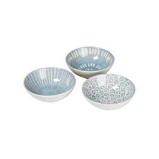 Broste Modern Large Bowls - Assorted Blue Designs