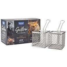 James Martin Gastro 2 Piece Mini Fry Basket Kit