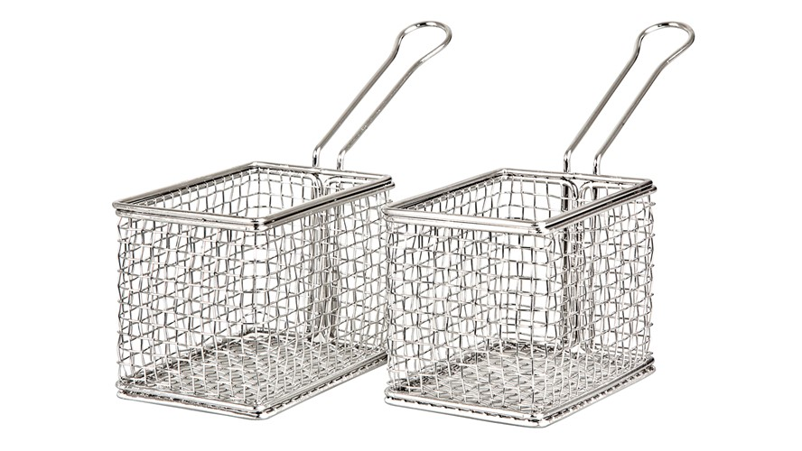 James Martin Gastro 2 Piece Mini Fry Basket Kit