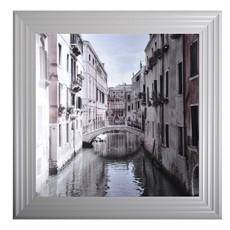 Venice I Grey Framed Print