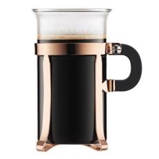 Bodum Chambord Coffee Glasses (Set of 2) - Copper