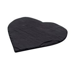Just Slate Heart Coasters (Set of 4)