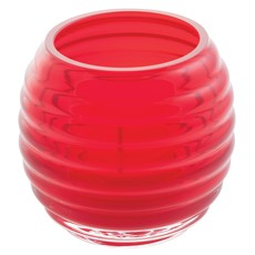Beehive Tealight Holder - Red