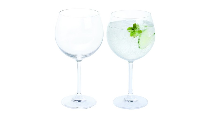 Dartington Wine & Bar Copa Gin & Tonic Glasses (Set of 2)