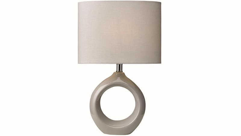 Lottie Table Lamp - Soft Grey