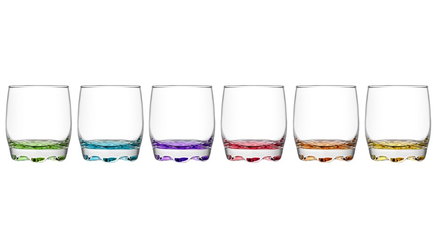 LAV Adora Short Tumbler Glass (Set of 6)