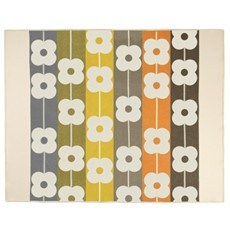 Orla Kiely Stripe Flower Throw