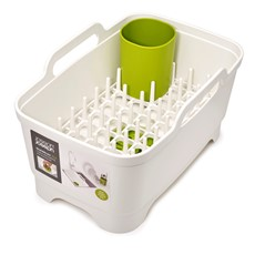 Joseph Joseph Wash & Drain Plus - White & Green