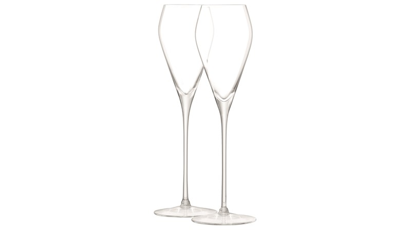 LSA Prosecco Wine Glasses (Set of 2) - Clear