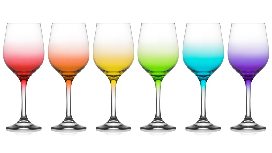 LAV Fame Ombre Wine Glass
