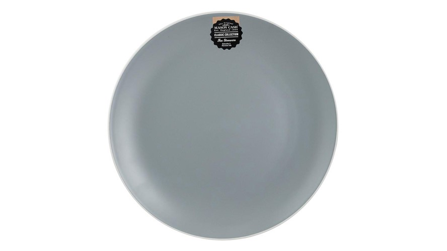 Mason Cash Classic Collection Dinner Plate - Grey