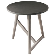 Classic and contemporary lamp tables sterling furniture hamar round lamp table grey aloadofball Choice Image