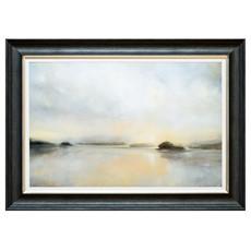 December Mist Framed Print