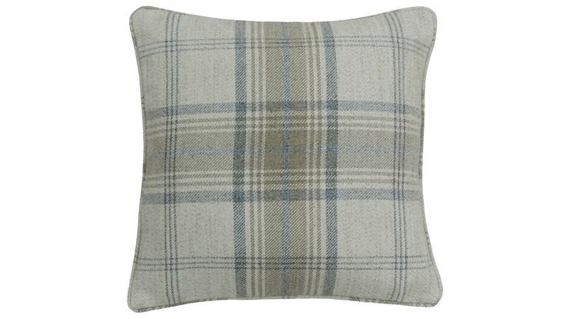 Aviemore Natural Check Cushion