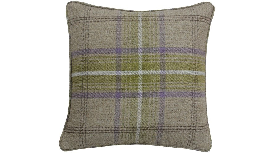 Aviemore Thistle Check Cushion