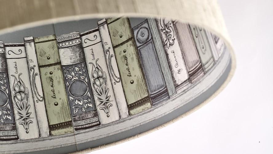 Voyage Contra Eva 46cm Pendant - Varanasi Travertine Library
