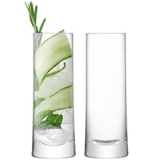 LSA Gin Highball (Set of 2) - Clear