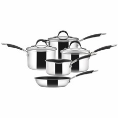 Circulon Momentum Stainless Steel 5 Piece Pot Set