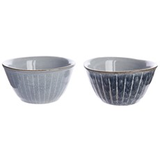 Terracotta Lines Bowl - Assorted Colours