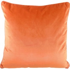 Royal Velvet Square Cushion - Pumpkin