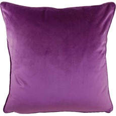 Royal Velvet Square Cushion - Amethyst